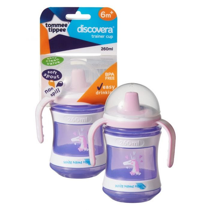 Trainer Sippee Cup Purple with packaging
