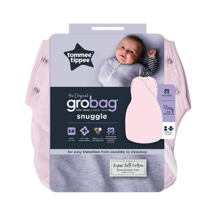 Pink Marl Grobag Snuggle packaging