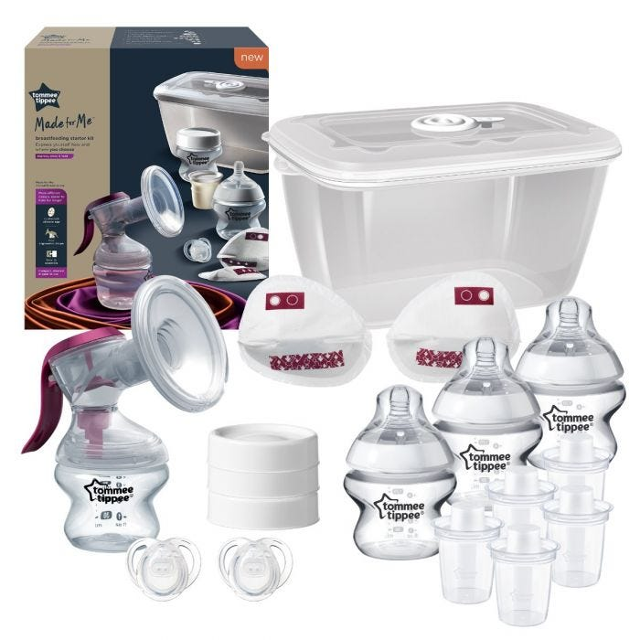 Tommee Tippee Made for Me Breastfeeding Starter Kit