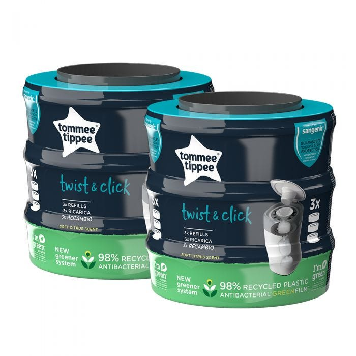 Twist & Click 6 refills with packaging