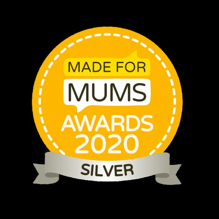 Made for Mums award 2020 silver award