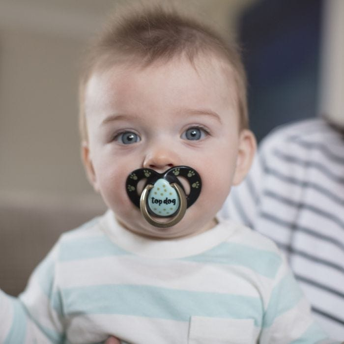 baby with a moda soother
