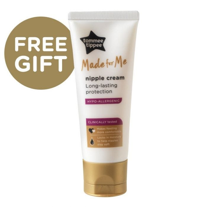 Tommee Tippee Free gift made for Me Nipple Cream Bottle