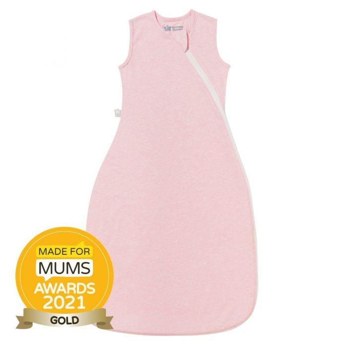 The Original Grobag Pink Marl Sleepbag with award winning roundel
