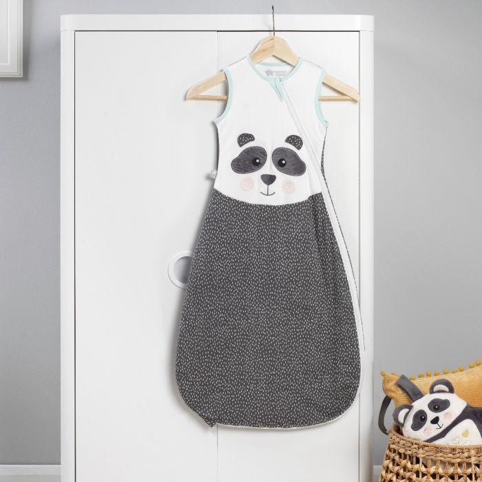 The Original Grobag Pip the Panda Sleepbag hanging up