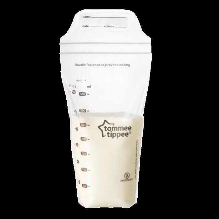 Clear Breast Milk Storage Bags