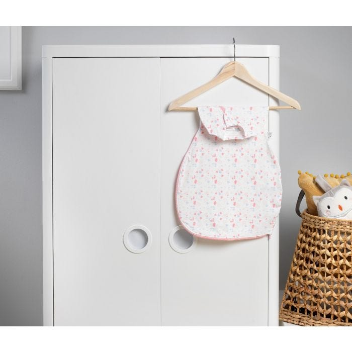 Pretty Petals Easy Swaddle hanging up