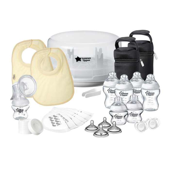 Microwave steam sterilizer set, all components