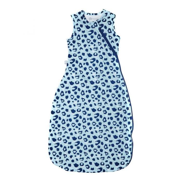 Sleepbag in blue print