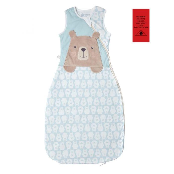 The Original Grobag Bennie the Bear Sleepbag with fire safety label