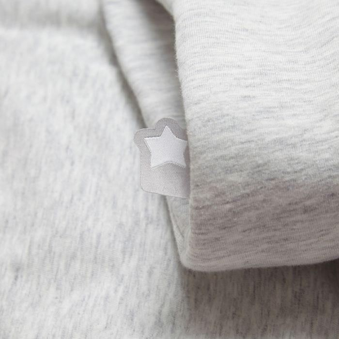 The Original Grobag Grey Marl Sleepbag close up