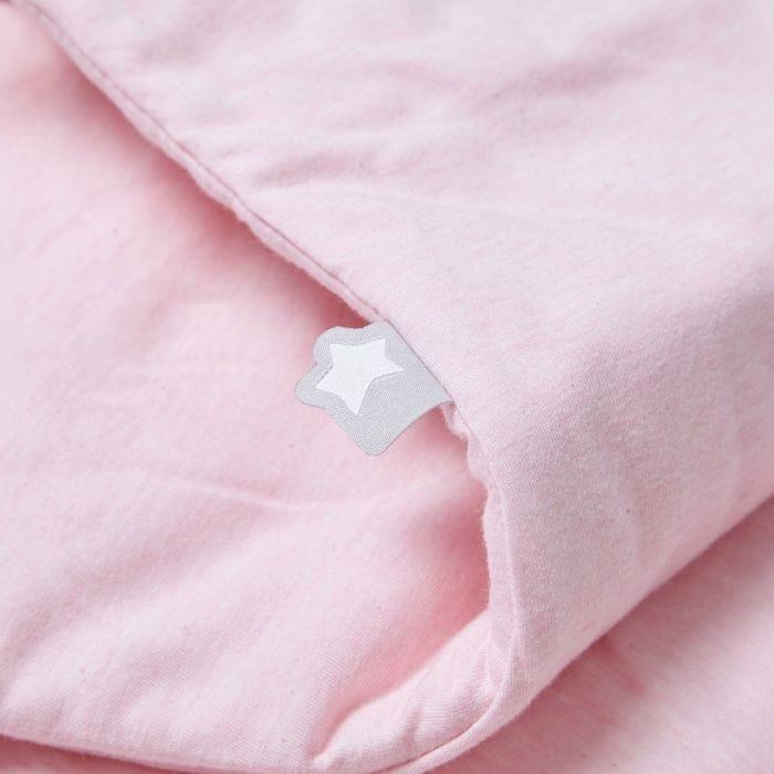 The Original Grobag Pink Marl Sleepbag close up