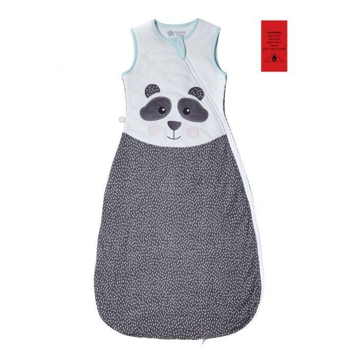 The Original Grobag Pip the Panda Sleepbag, 18-36 months, 1.0 Tog with fire label