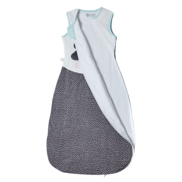 The Original Grobag Pip the Panda Sleepbag, with zip open
