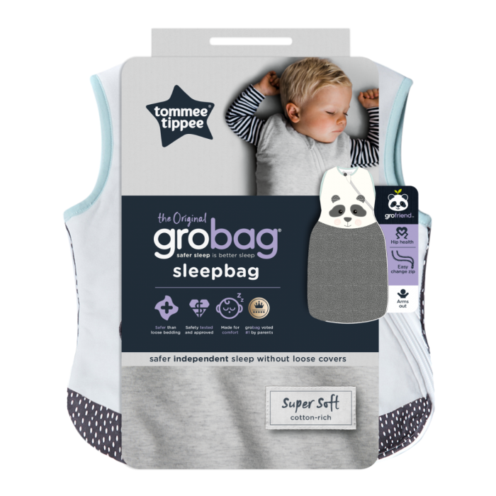 The Original Grobag Pip the Panda Sleepbag Packaging