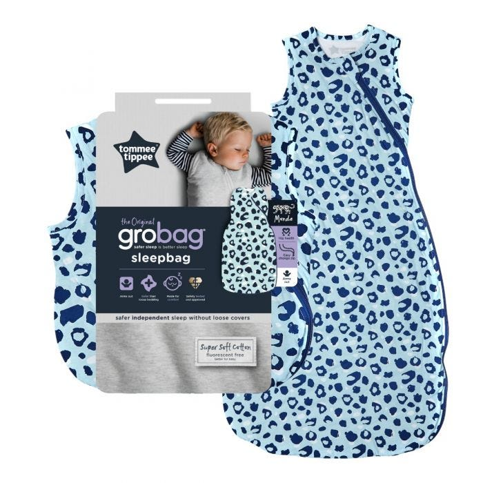 The Original Grobag Abstract Animal Sleepbag with packaging