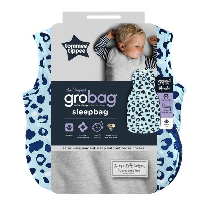 The Original Grobag Abstract Animal Sleepbag packaging
