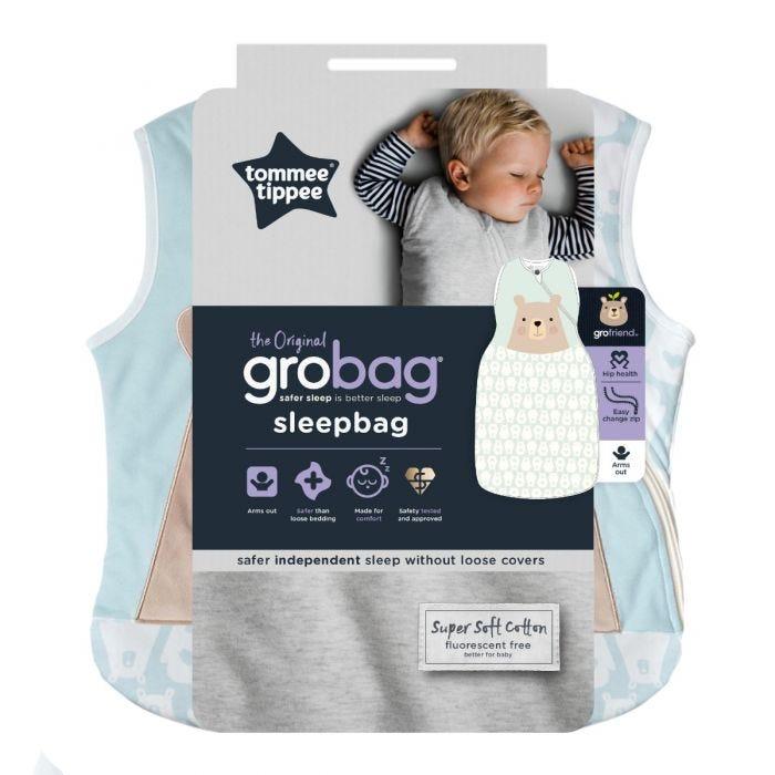 Bennie the Bear Grobag  packaging