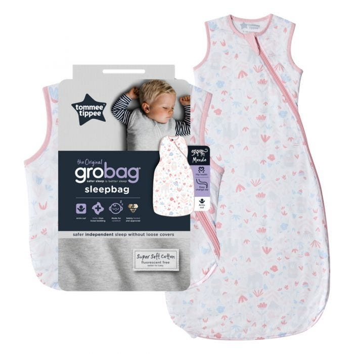 The Original Grobag Floral Forest Sleepbag and packaging