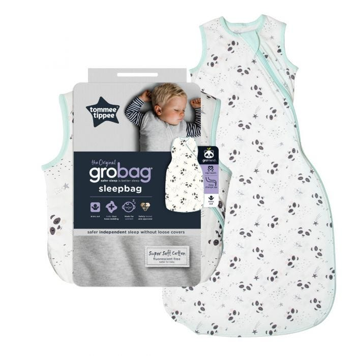Little Pip Grobag Sleepbag and packaging