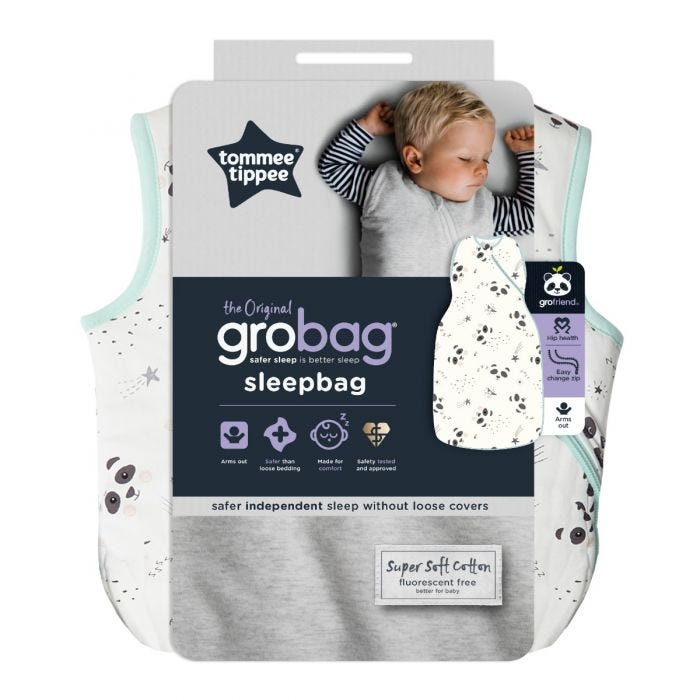 Little Pip Grobag Sleepbag packaging
