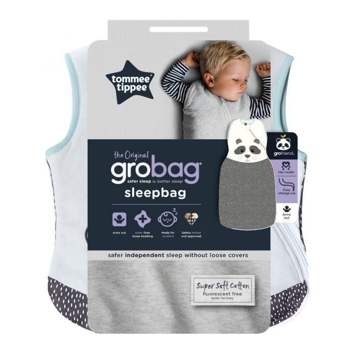 The Original Grobag Pip the Panda Sleepbag, 18-36 months, 1.0 Tog packaging