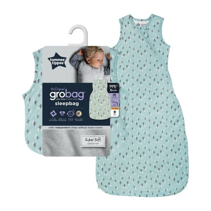 Treasure Trees Original Grobag Sleep bag with packaging