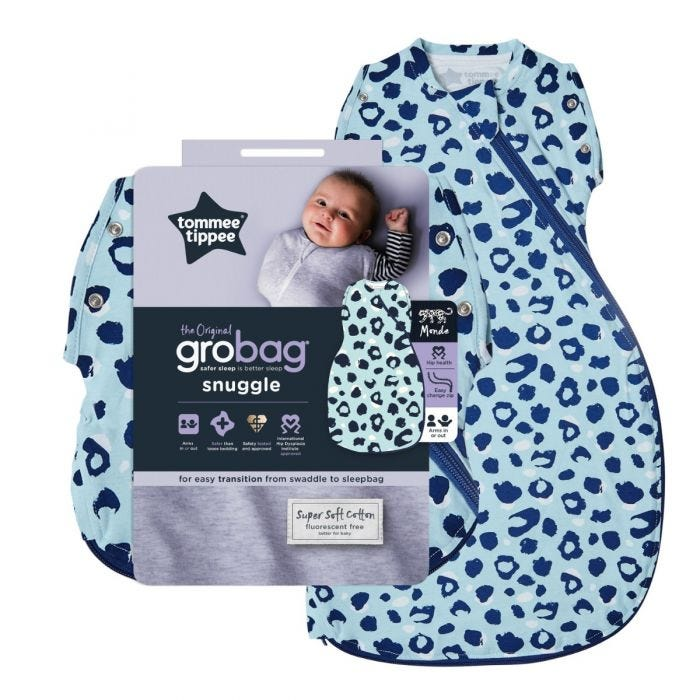 Original Grobag Abstract Animal Snuggle with packaging