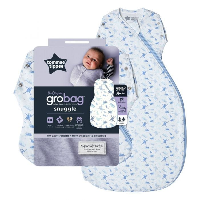 Original Grobag Planet Earth Snuggle and packaging