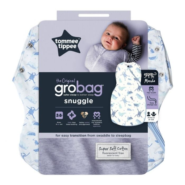 Original Grobag Planet Earth Snuggle packaging