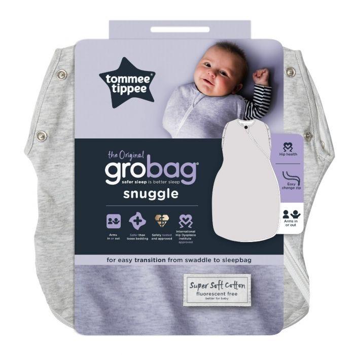 Grey Marl Grobag Snuggle packaging