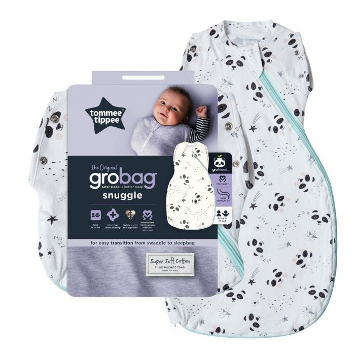 Little Pip Grobag Snuggle with packaging