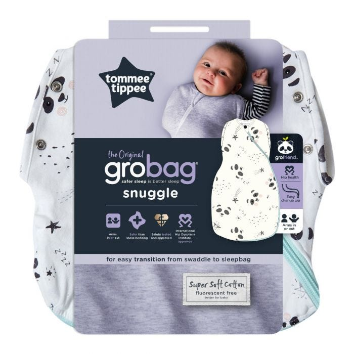 Little Pip Grobag Snuggle packaging