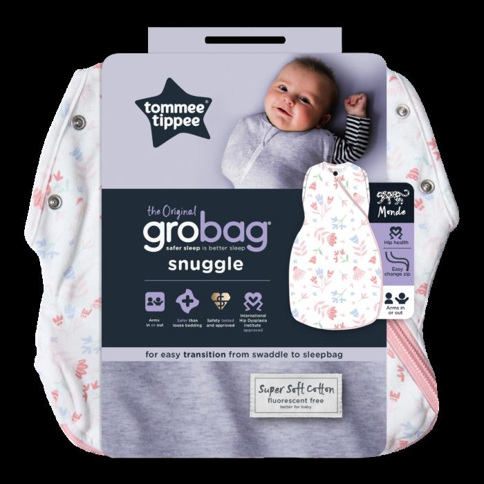 Original Grobag Pretty Petals Snuggle packaging