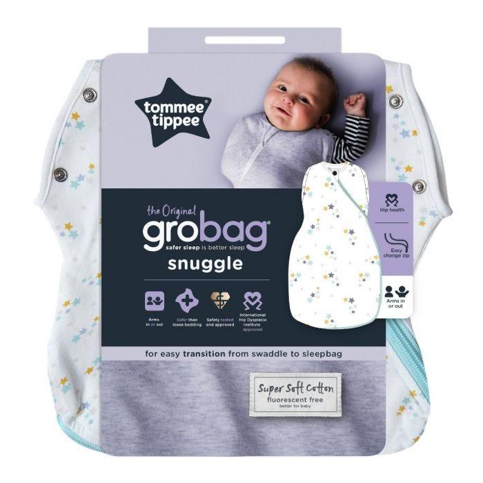 Original Grobag Baby Stars Snuggle packaging