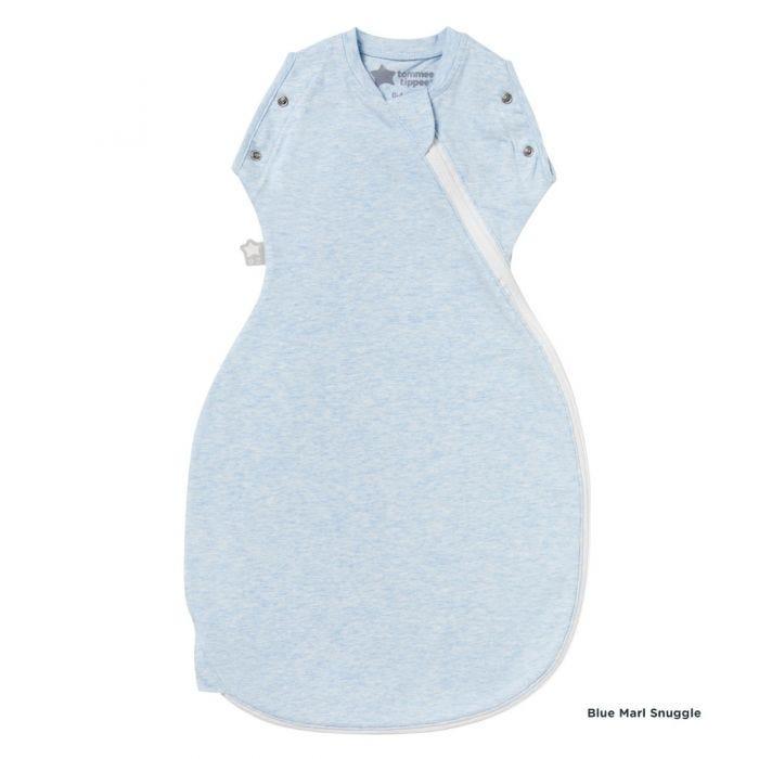 Blue Marl Grobag Snuggle