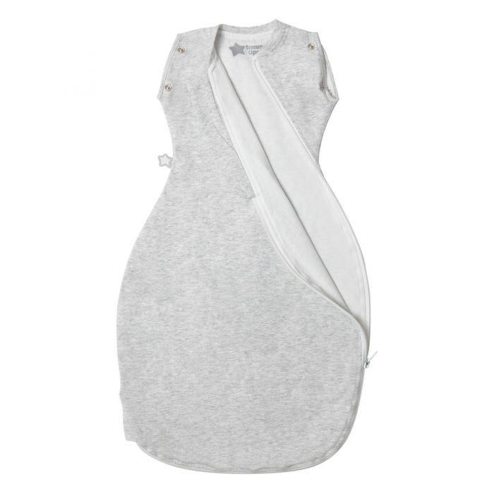 Grey Marl Grobag Snuggle open zip