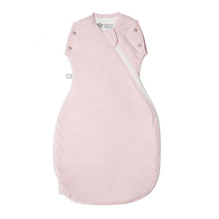 Sleepee Snuggee, Pink Marl, 1.0 Tog - 3-9 months