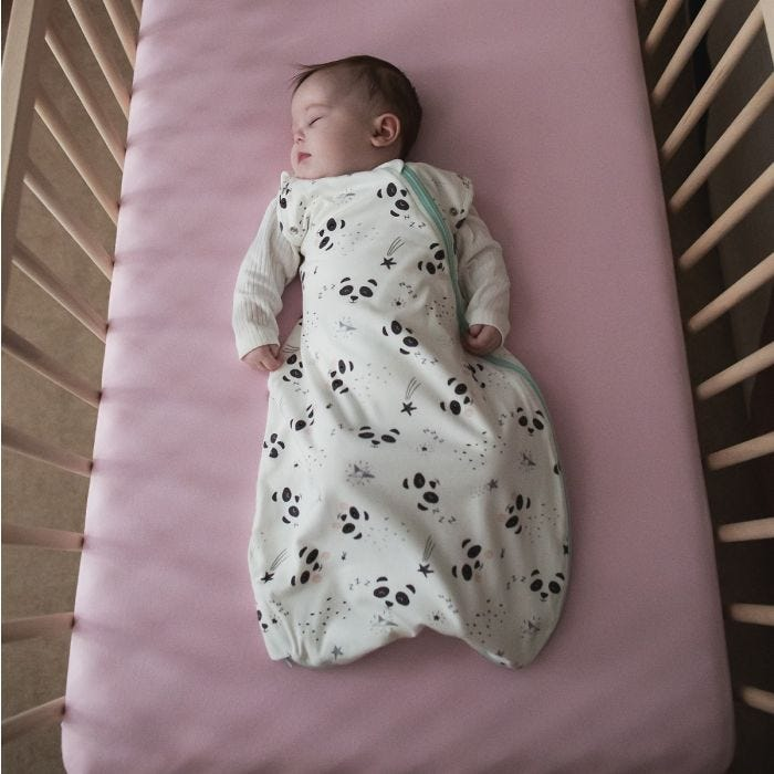Baby sleeping in The Original Grobag Little Pip Snuggle