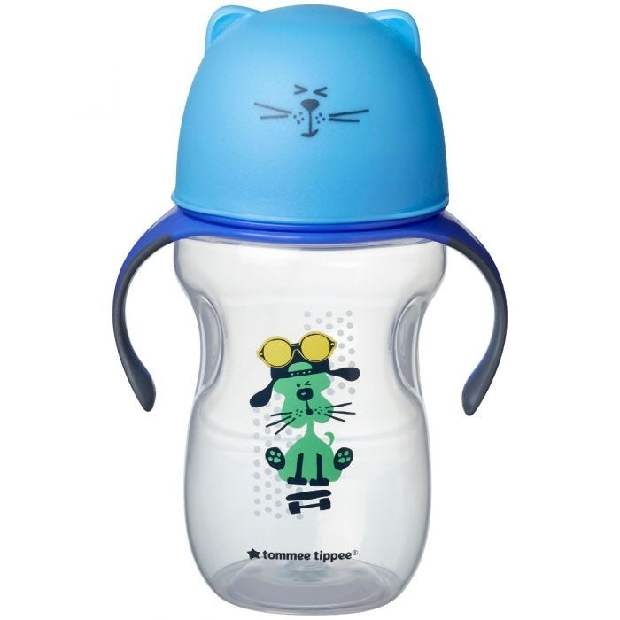 Soft Spout Trainer Cups - blue