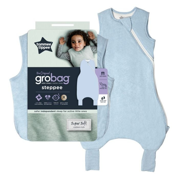 The Original Grobag Blue Marl Steppee with packaging