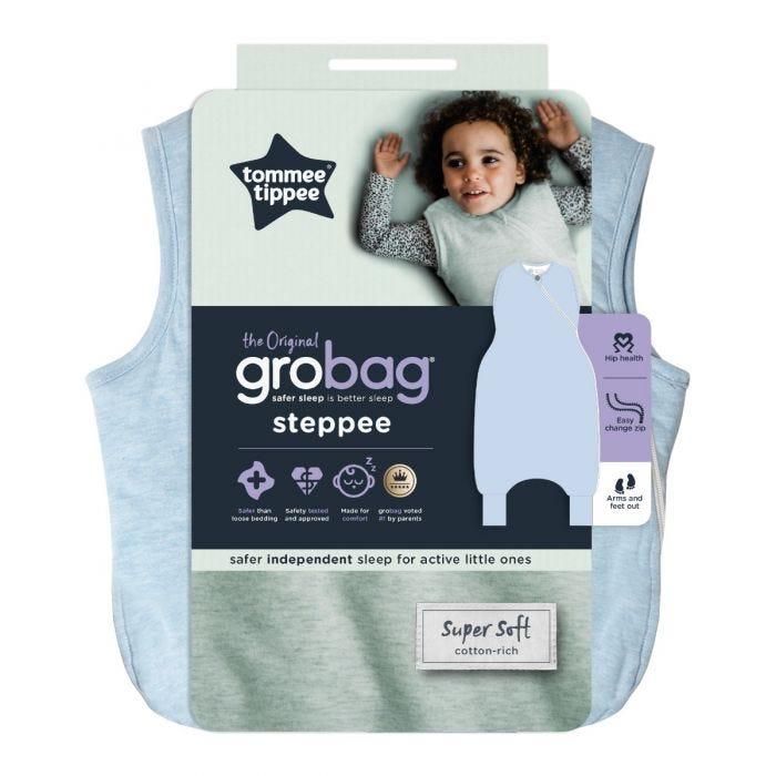 The Original Grobag Blue Marl Steppee packaging