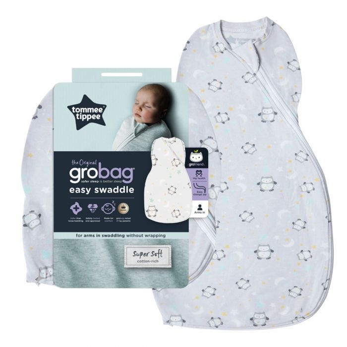 Little Ollie Easy Swaddle with packaging