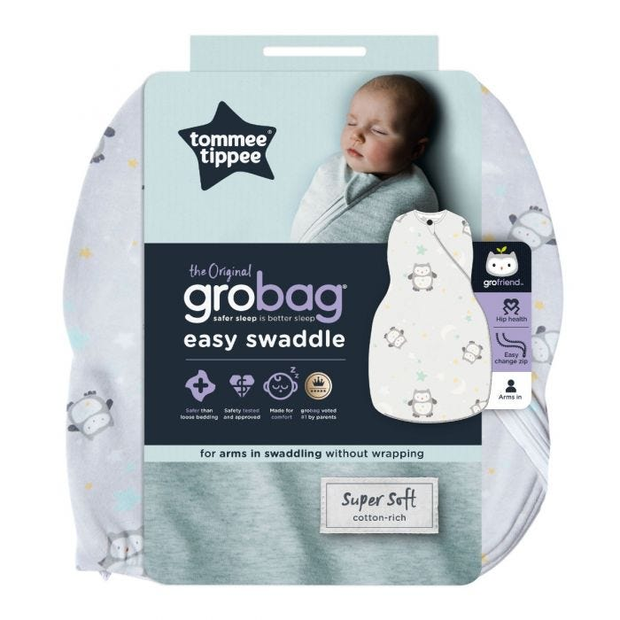 The Original Grobag Little Ollie Snuggle packaging