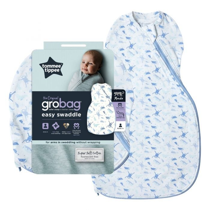 Planet Earth Easy Swaddle and packaging