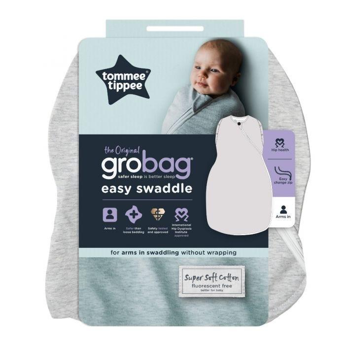 Grey Marl Easy Swaddle packaging