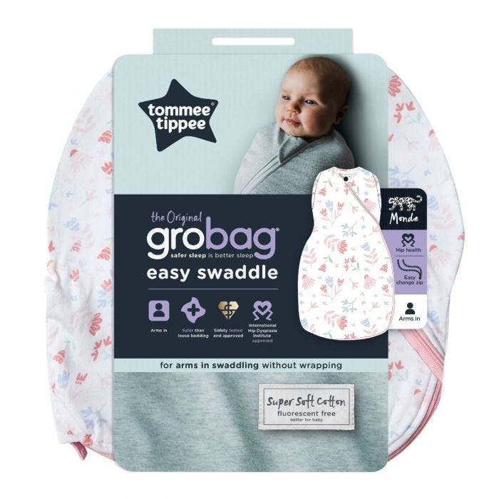 Pretty Petals Easy Swaddle packaging
