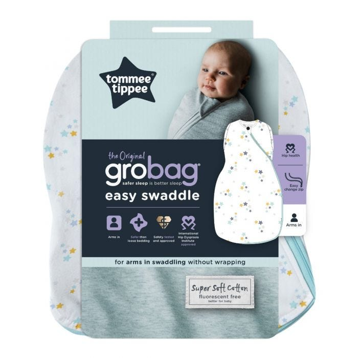 Baby Stars Easy Swaddle Packaging