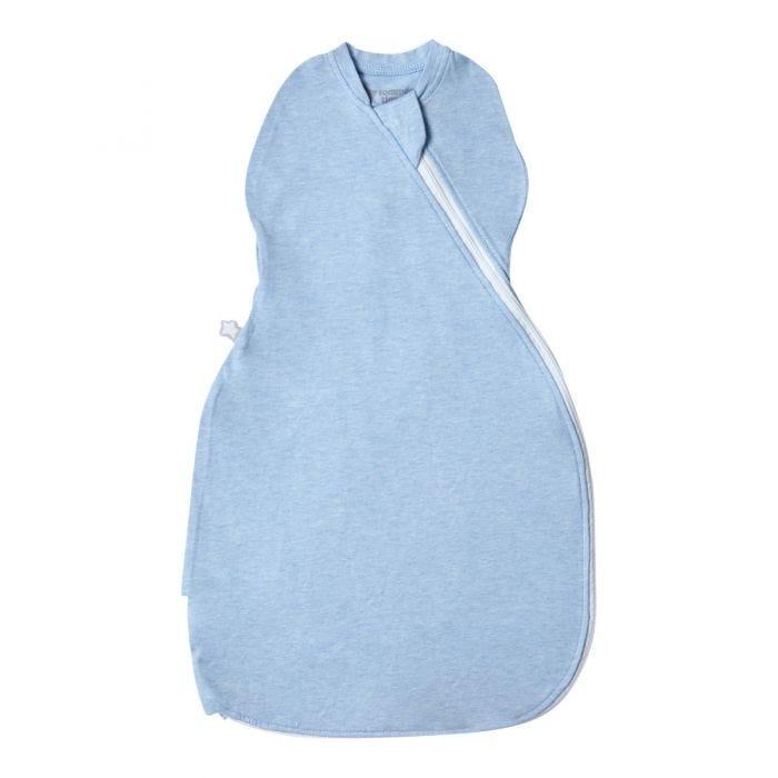 The Original Grobag Blue Marl Easy Swaddle