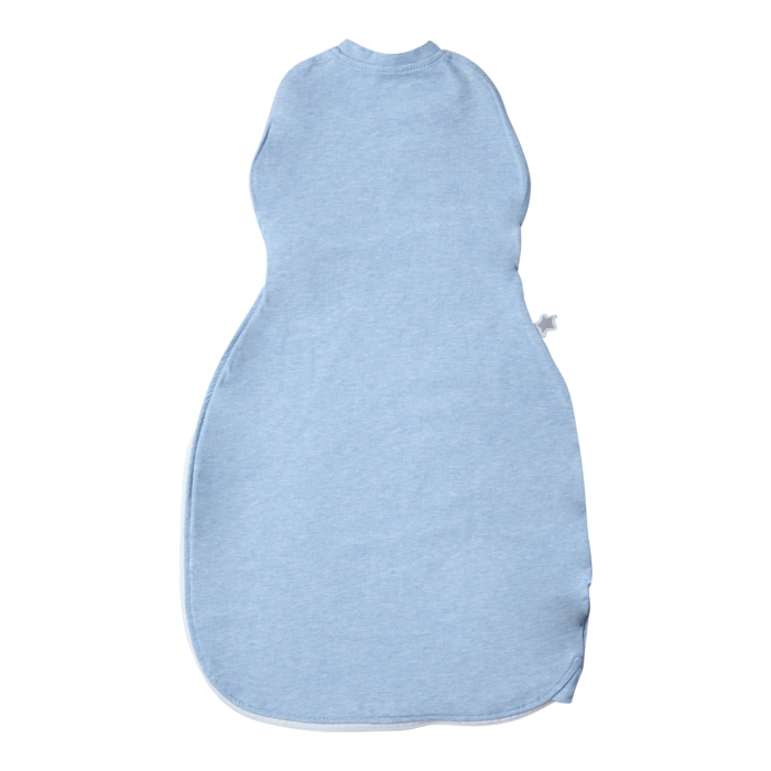 The Original Grobag Blue Marl Easy Swaddle back view